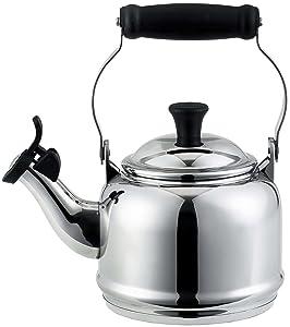 Le Creuset 1.2 Quart Stainless Steel Demi Tea Kettle