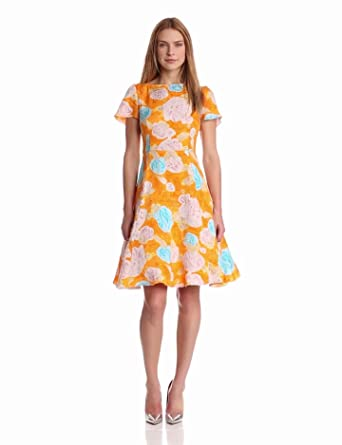 Tracy Reese Women's Deconstructed Frock, Floral, 2