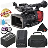Panasonic AG-DVX200 4K Professional Camcorder with Four Thirds Sensor and Integrated 13x Leica Zoom Lens - Silver Level Bundle (Tamaño: Silver level Bundle)