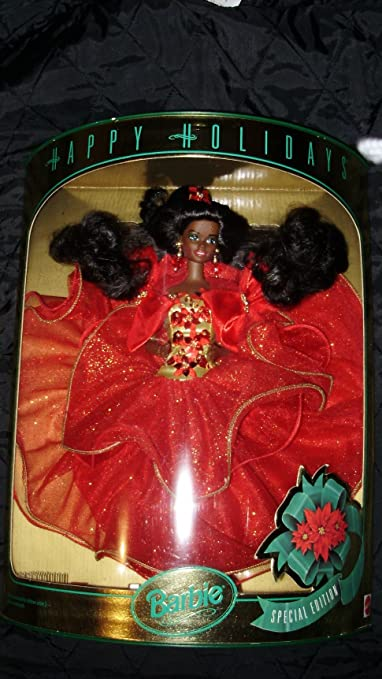 Mattel Barbie 1993 Happy Holidays African American Barbie Doll: Special Edition