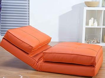 ᐃ Schlafsessel Jugendsessel Gästebett ᗕ Kunstleder Verschiedene