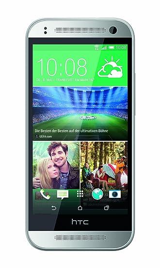 Htc mini 2 Smartphone débloqué 4.5 pouces 16 Go Android Argent (import Allemagne)