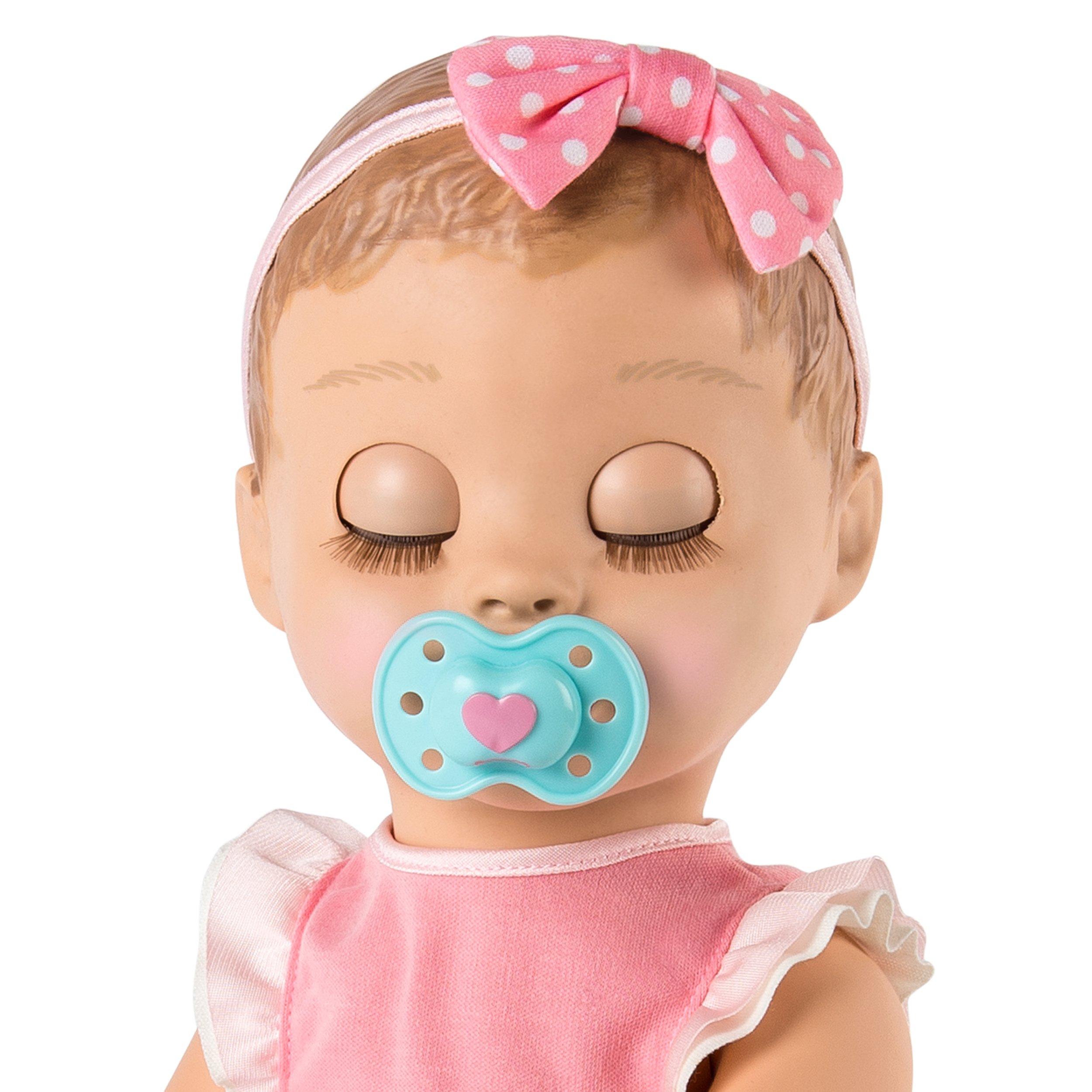 Blonde Hair Responsive Luvabella Baby Doll