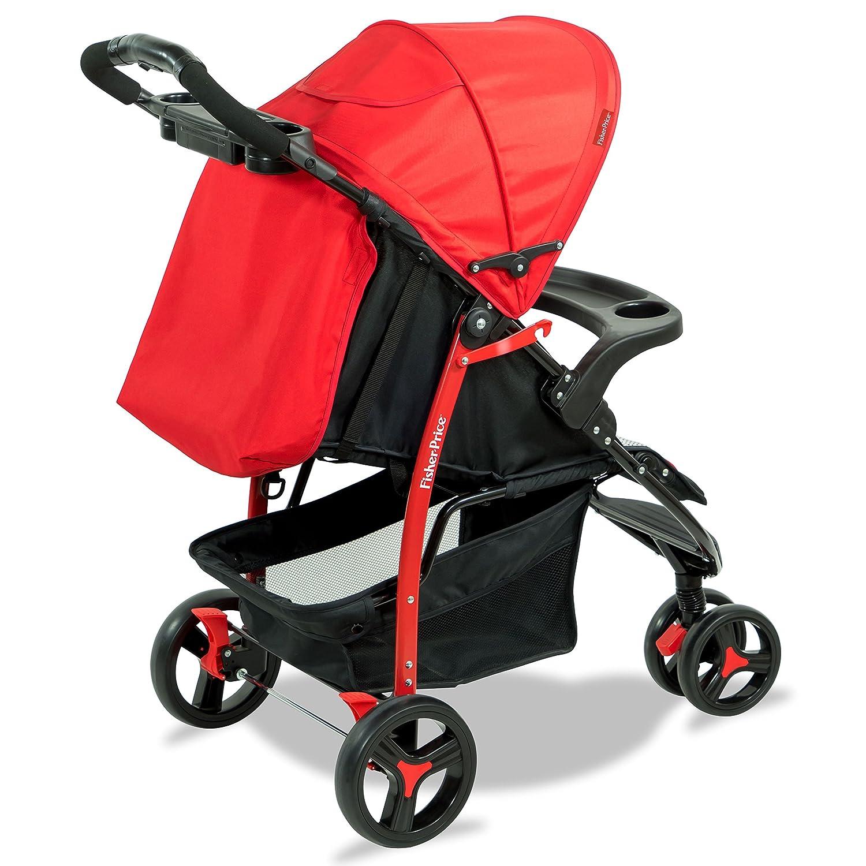 Rover Stroller cum Pram - Red