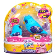 Little Live Pets S2 Tweet Talking Owl And Baby - Nightstar Family