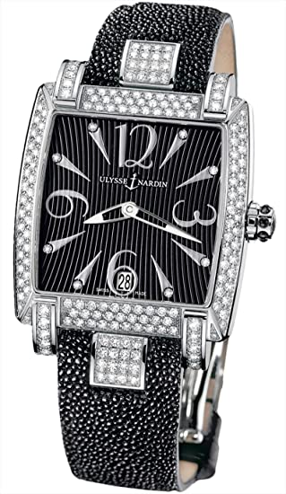 Ulysse Nardin Ladies Caprice Full Diamonds Case Watch 133-91AC-06/02