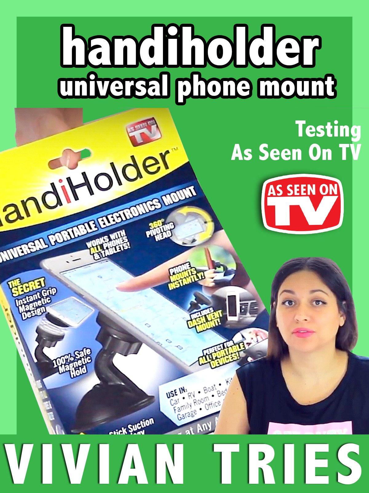 Review: Handiholder universal phone mount