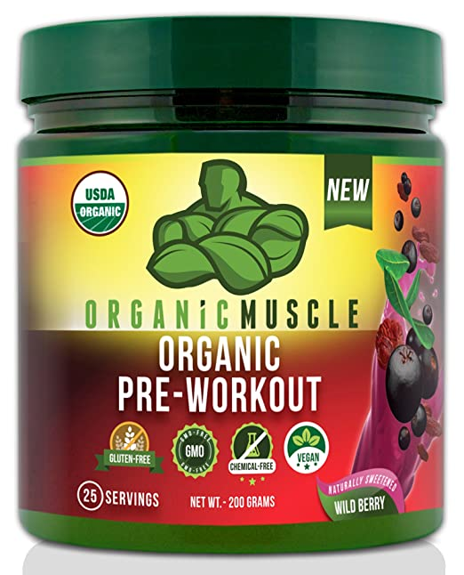 USDA Certified Organic Pre-Workout Supplement