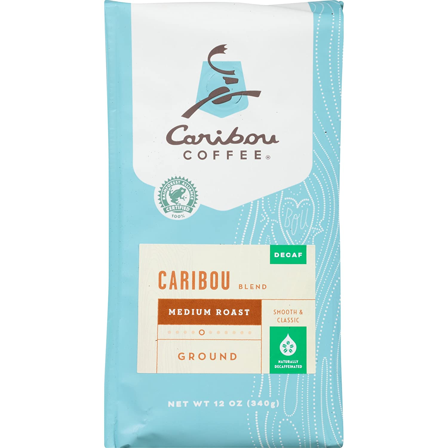 Caribou Coffee, Caribou Blend Decaf Ground