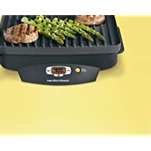 Hamilton Beach 25331 Super Sear 100-Square-Inch Nonstick Indoor Searing Grill