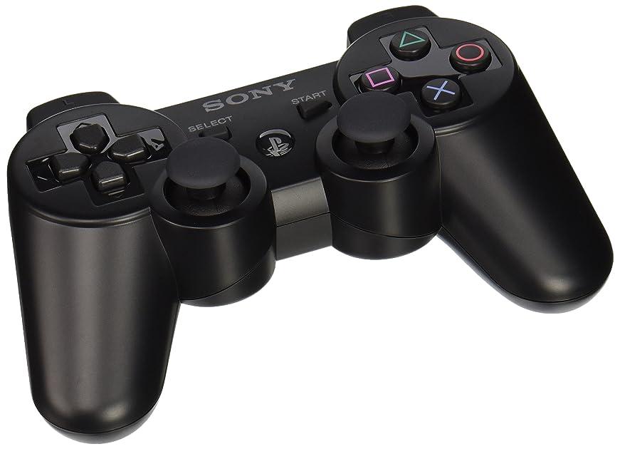 playstation 3 dualshock 3 wireless controller black. Black Bedroom Furniture Sets. Home Design Ideas