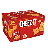 Cheez-It Original Baked Snack Cheese Crackers, 1.5 Ounce Snack Packs, 36 Count