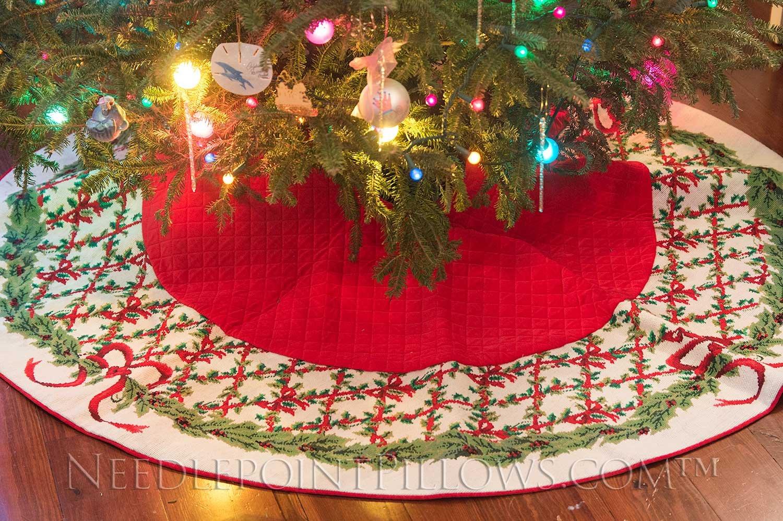 Christmas Designer Tree Skirt