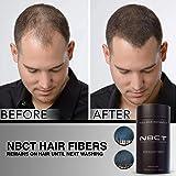 Hair Building Fibers, 12g / 0.42oz - Black (Color: Black)