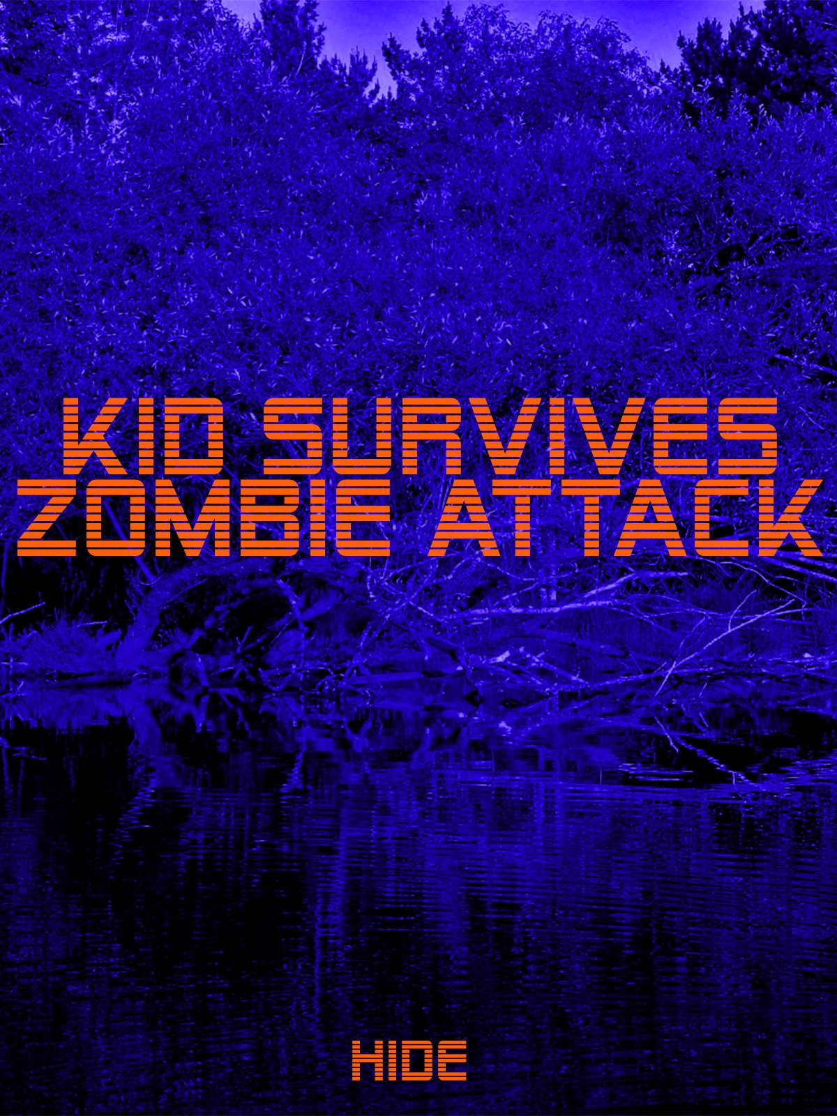 Kid Survives Zombie Attack