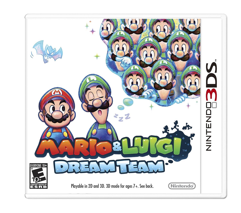 Mario and Luigi Dream Team Nintendo 3DS FREE Shipping