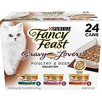 Purina Fancy Feast Gravy Lovers Gourmet Wet Cat Food- 24-3 oz. Cans