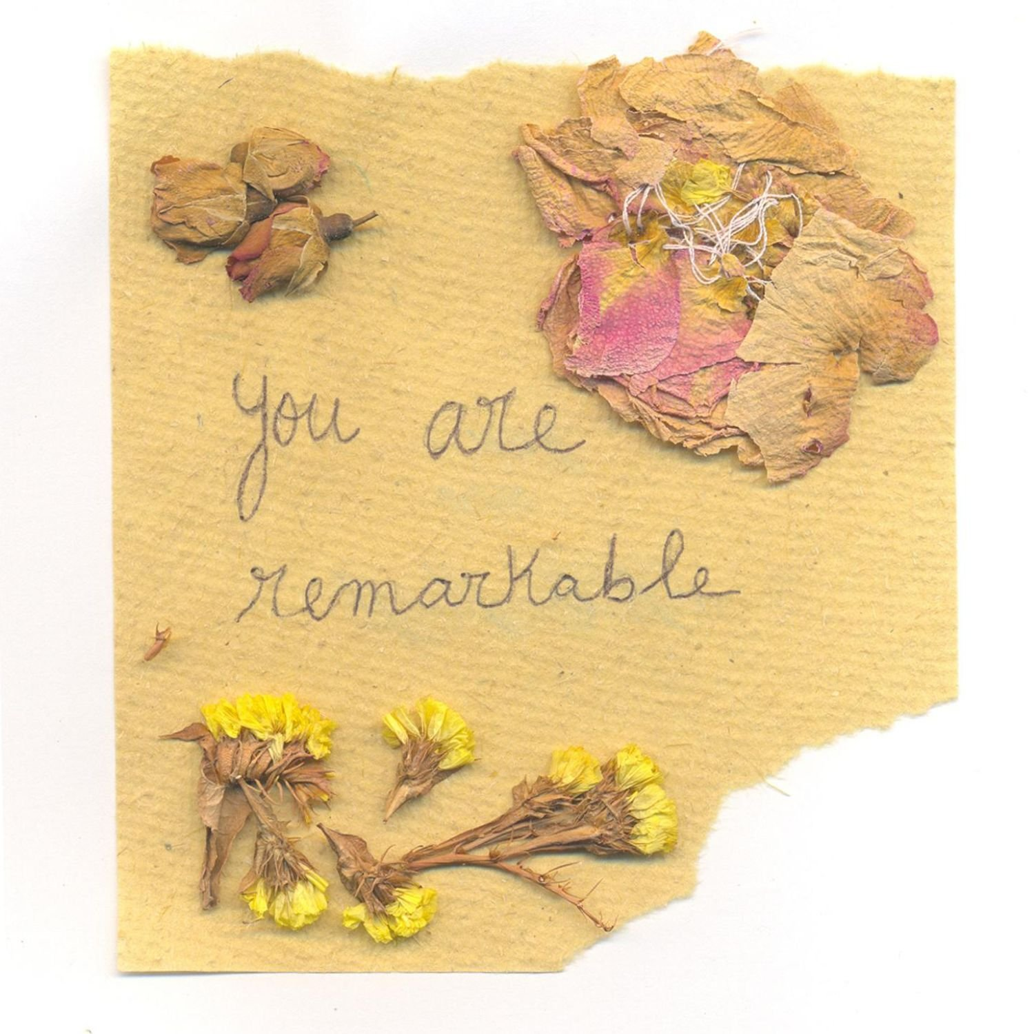 Love Letters – YOU ARE REMARKABLE