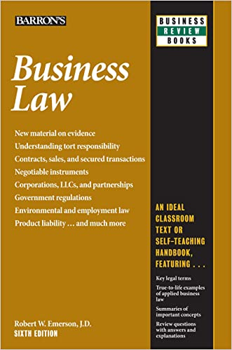Business Law, 6th edition (Business Review Series)