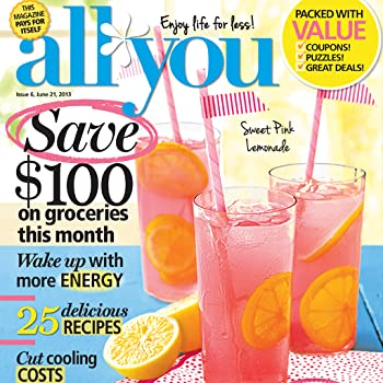 Set A Shopping Price Drop Alert For ALL YOU Magazine (Kindle Tablet Edition)
