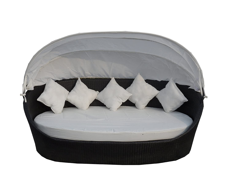 Poly-Rattan Liege Sonnenliege Strandkorb Bett Gartenmöbel Garten Möbel Sessel Stuhl – XXXL jetzt bestellen
