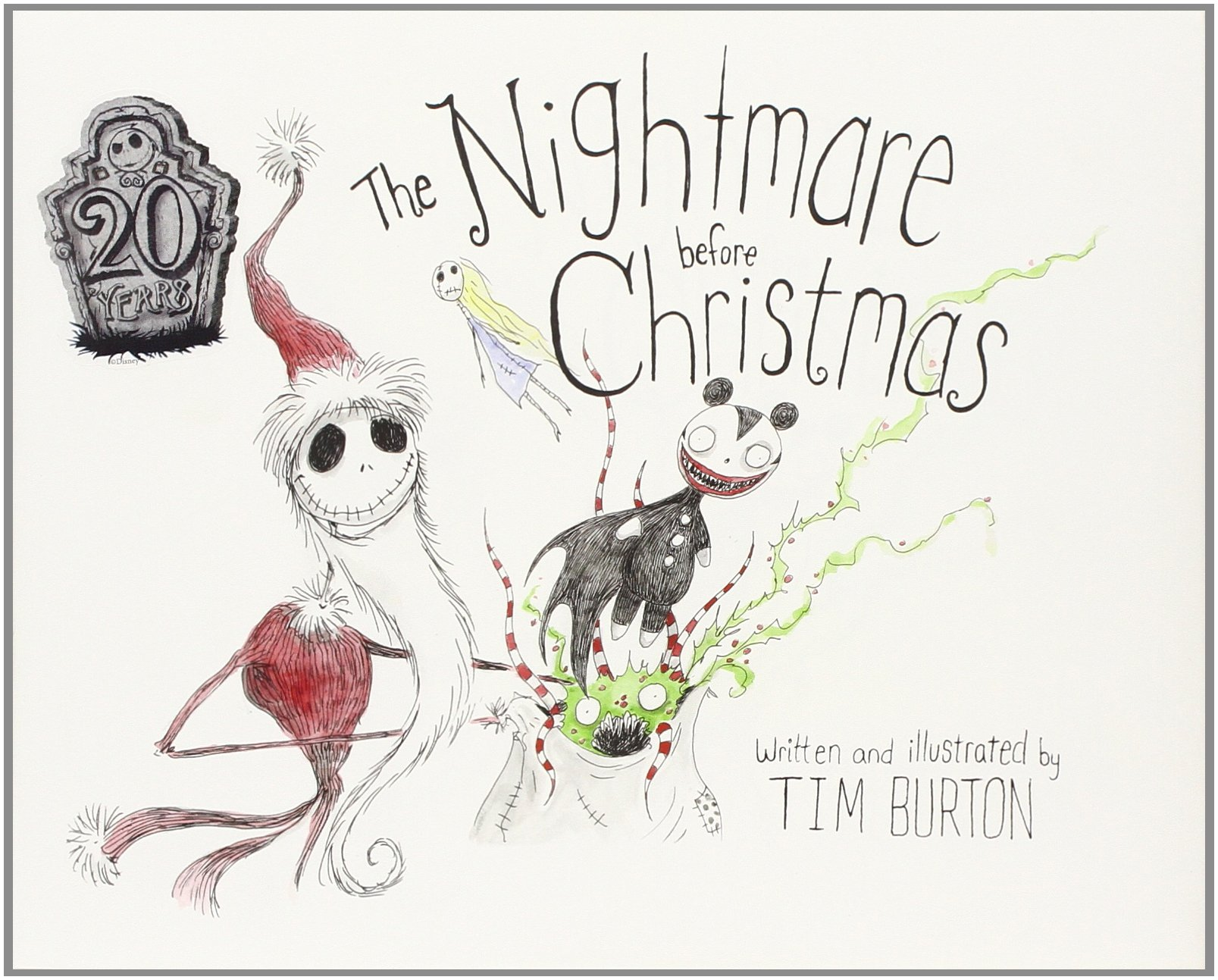Nightmare before christmas jack coloring pages - Best Reading For Kids Three 2015 Christmas Books To