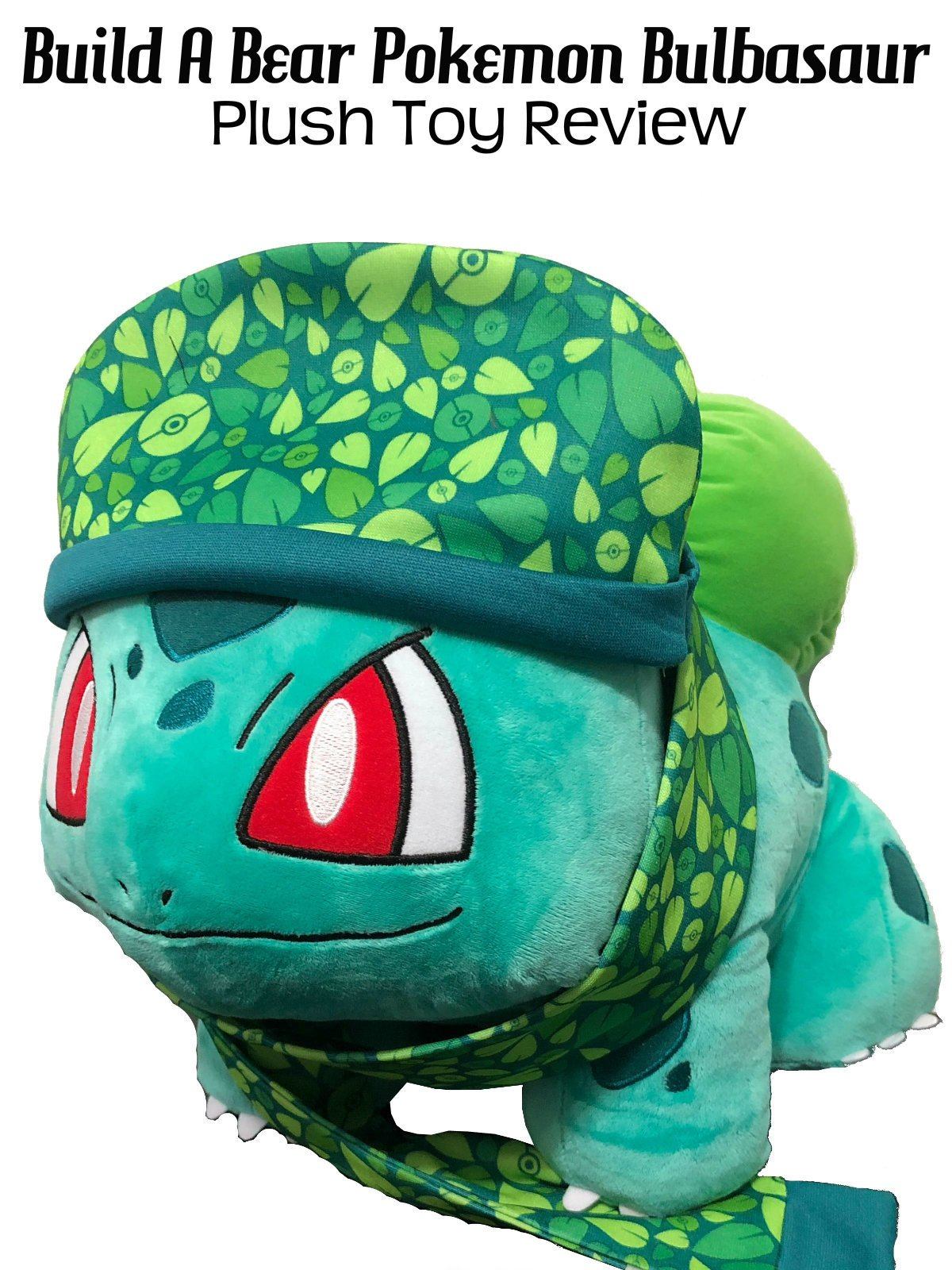 Review: Build A Bear Pokemon Bulbasaur Plush Toy Review
