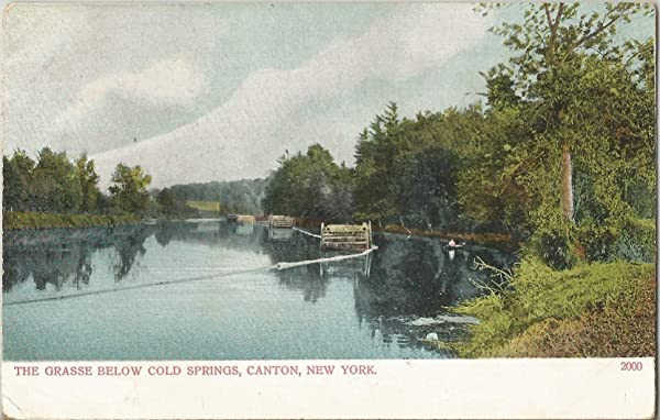 The Grasse Below Cold Springs in Canton, New York