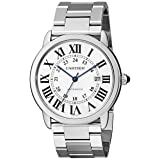 Cartier Men's W6701011 Ronde Solo Stainless Steel Watch (Color: Silver)