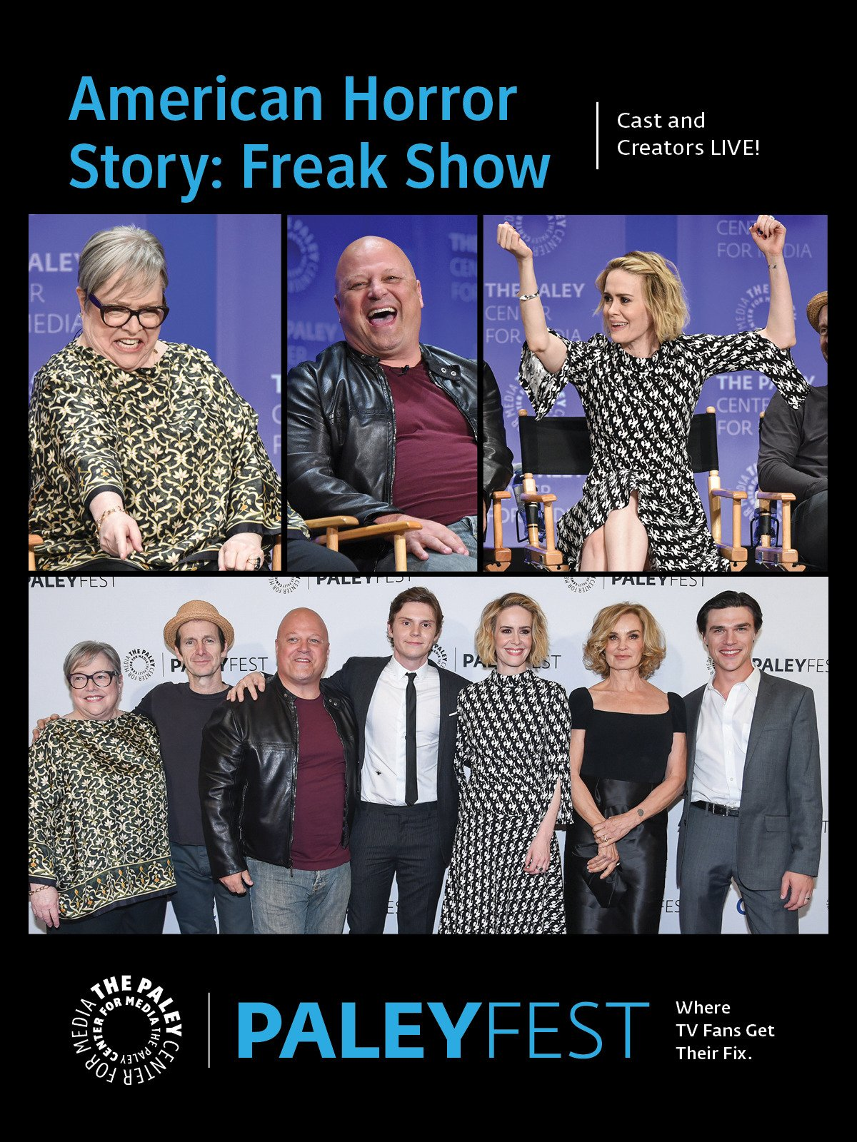 American Horror Story: Freak Show: Cast and Creators Live