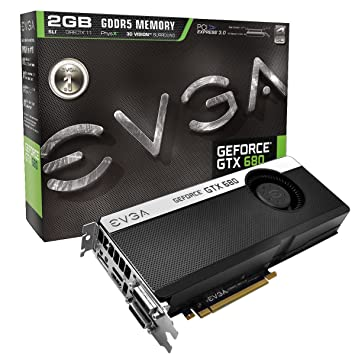 EVGA GeForce GTX680 2GB GDDR5 DisplayPort DVI I