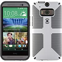 Speck CandyShell Grip Case for HTC One M8 Smartphone (White)