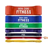 Light Resistance Bands from Assisted Pullup Bands Set - Bodybuilder Bands for Legs Abs Back Chest Glutes Butt Muscle Building - Muscle Band for Home Gym Crossfit Box Gym Toning and Training -Small Red (Color: #2 Red (20lb-35lb))