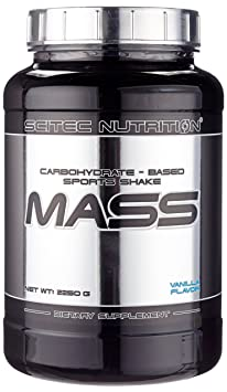 Scitec Nutrition Mass Vanille, 1er Pack (1 x 2,25 kg)