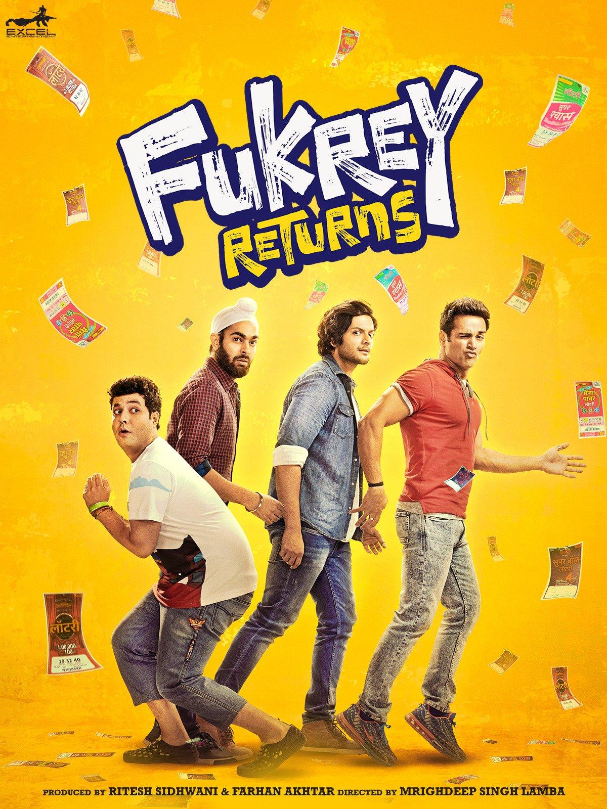 Fukrey Returns on Amazon Prime Video UK