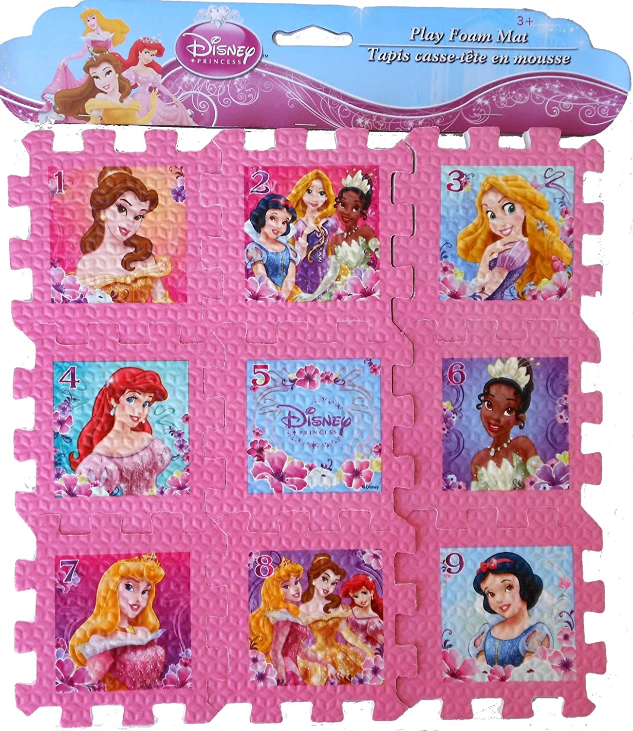 Disney Princess Numbered Play