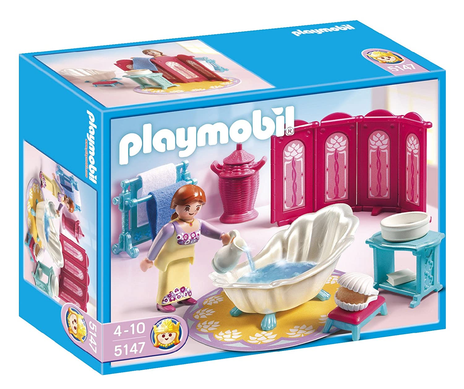 Salle bain playmobil for Salle a manger playmobil city life