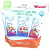 Nature's Garden Organic Trail Mix Snack Packs, Multi Pack 1.2 oz - Pack of 24 (Total 28.8 oz) (Tamaño: 1 Pack)