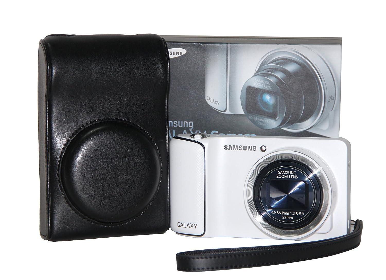 MegaGear Ever Ready Protective Black Leather Camera Case , Bag for Samsung Galaxy Camera EK-GC100, Samsung EK-GC110 Galaxy Digital Camera