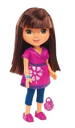 Fisher-Price – Dora et ses Amis – Dora en Robe Rose – Poupée 20 cm