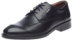 Geox Uomo Loris Abx, Chaussures de ville homme - Noir (C9999), 40 EU (6.5 UK)   Commentaires en ligne plus informations
