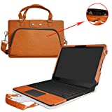 Razer Blade Stealth Case,2 in 1 Accurately Designed Protective PU Leather Cover + Portable Carrying Bag for Razer Blade Stealth 12.5 & 13.3 inch Series Gaming Laptop,Brown (Color: Brown, Tamaño: Razer Blade Stealth)