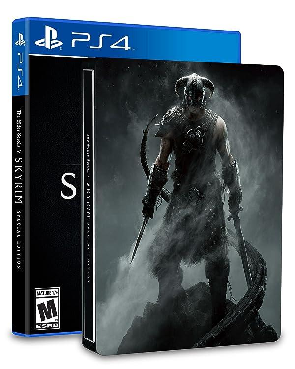 The Elder Scrolls V: Skyrim SteelBook Edition - PlayStation 4