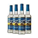 Torani Sugar Free Syrup, Vanilla, 25.4 Ounce (Pack of 4) (Tamaño: 25.4 Fl Oz (Pack of 4))