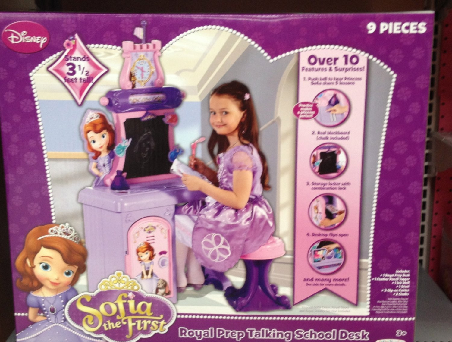 Sofia The First Royal Prep Talking School Desk