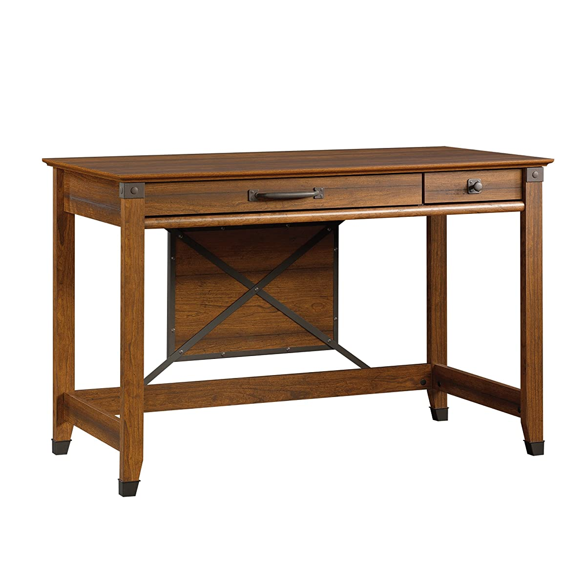 Sauder Carson Forge Writing Desk Washington Cherry Finish