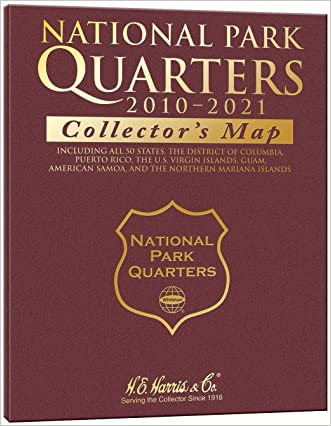 National Park Quarter Collector's Map