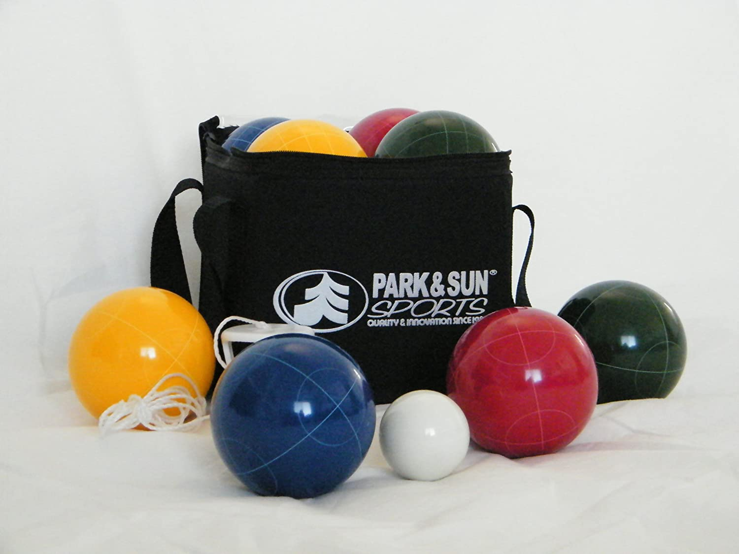 Bocce Ball Lawn Bowling : Bocce Ball Pro Set Game Carry Case Bag Outdoor Sports Lawn Bowling