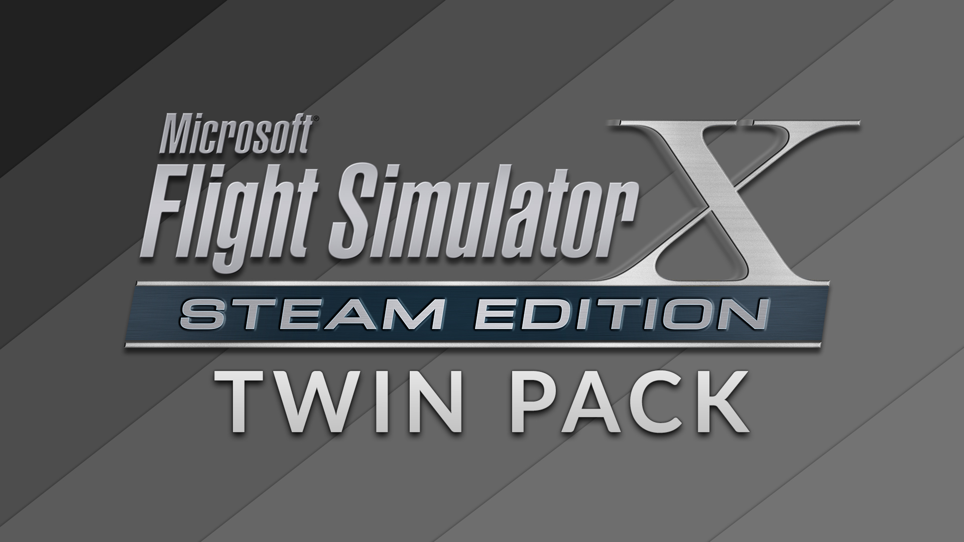 FSX: Steam Edition + Skychaser Add-On Twin Pack [Online Game Code]
