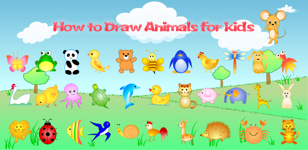 Amazon.com: How to Draw Animals for Kids: Appstore for Android